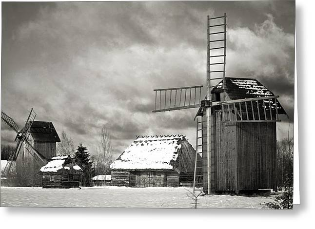 Best Sellers -  - Polish Culture Greeting Cards - Traditional old Polish village Greeting Card by Waldek Dabrowski