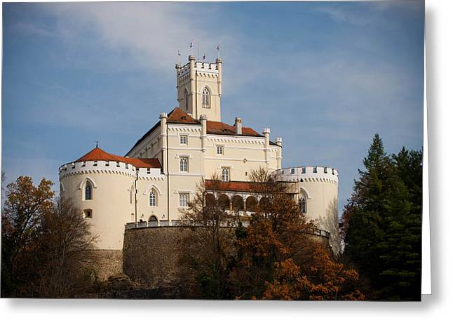 Castle In Valley Greeting Cards - Trakoscan Castle Greeting Card by Ivan Klindic