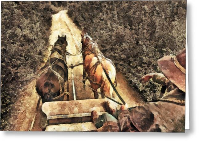 Boots Digital Art Greeting Cards - Travel Greeting Card by Naman Imagery