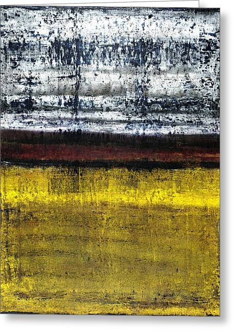 Rustic Colors Greeting Cards - Untitled No. 18 Greeting Card by Julie Niemela