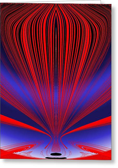 Helium Greeting Cards - Up Up And Away Greeting Card by Tim Allen