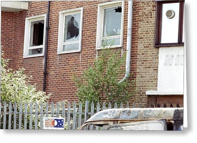 Urban Decay Greeting Card by Victor De Schwanberg