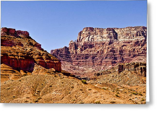 Northern Arizona Greeting Cards - Vermilion Cliffs Arizona Greeting Card by Jon Berghoff