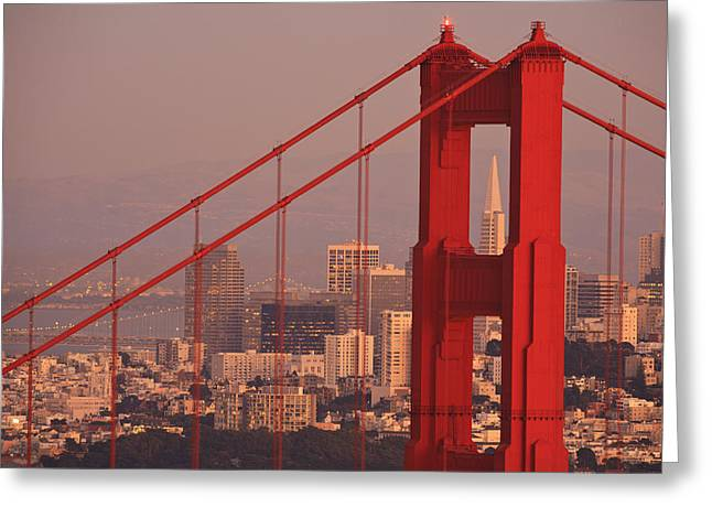 Golden Gate National Recreation Area Greeting Cards - View From Golden Gate National Greeting Card by Stuart Westmorland