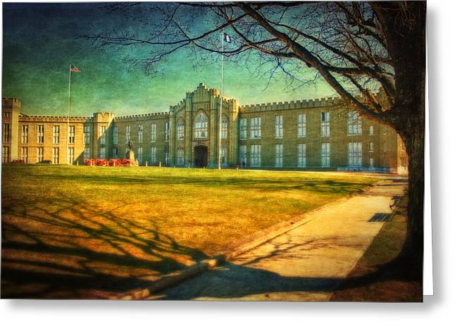 Cadet Greeting Cards - Virginia Military Institute  Greeting Card by Kathy Jennings