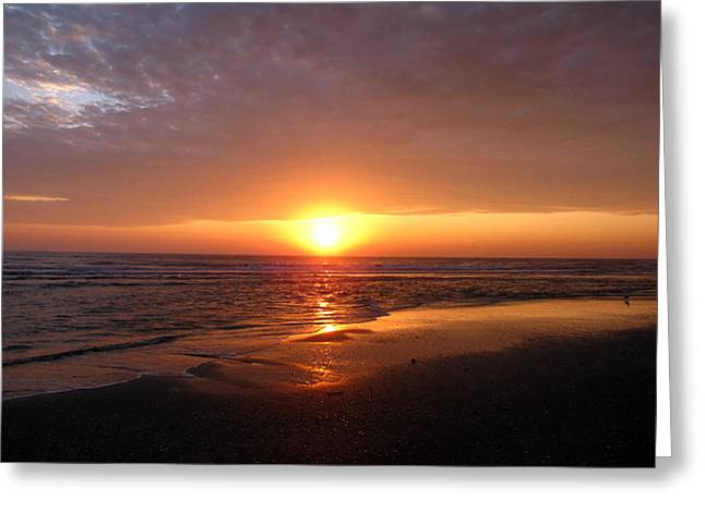 """sunset Photography"" Greeting Cards - Walk with me Greeting Card by Evelyn Patrick"