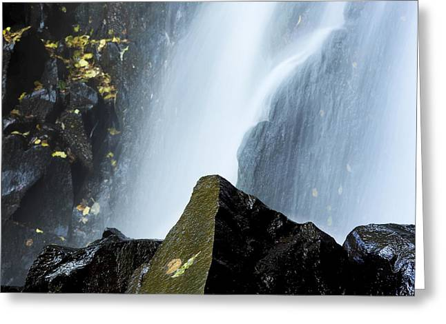 Nature Body Greeting Cards - Waterfall in auvergne Greeting Card by Bernard Jaubert