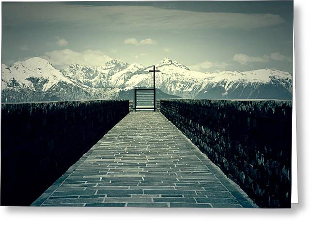 Way To Heaven Greeting Card by Joana Kruse