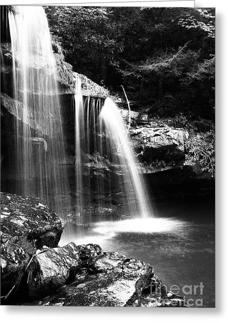 Mccoy Photographs Greeting Cards - West Virginia Waterfall  Greeting Card by Thomas R Fletcher