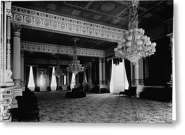 White House: East Room Greeting Card by Granger