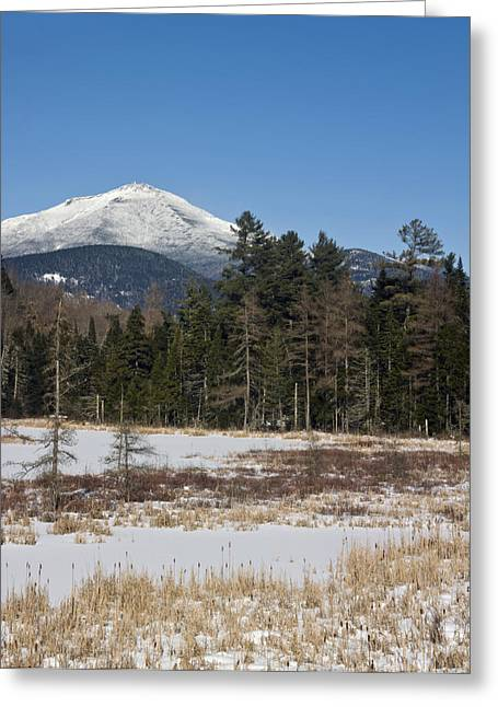 Rugged Terrain Greeting Cards - Whiteface Mountain in the Adirondacks of Upstate New York Greeting Card by Brendan Reals