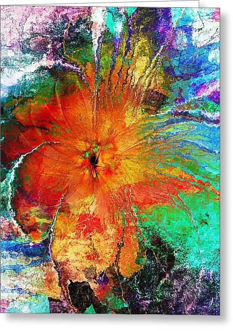 Floral Digital Art Digital Art Greeting Cards - Will You Love Me Tomorrow Greeting Card by Amanda Moore