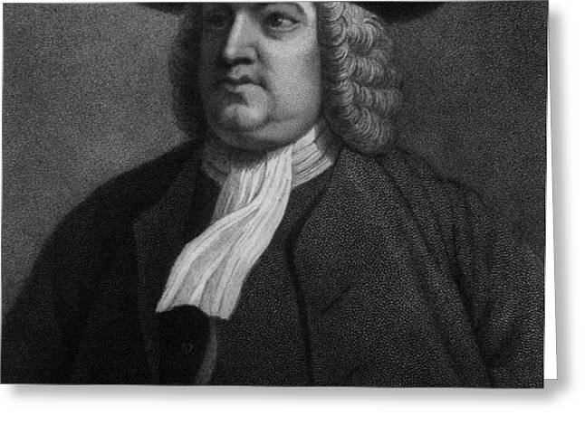 William Penn, Founder Of Pennsylvania Greeting Card by Photo Researchers