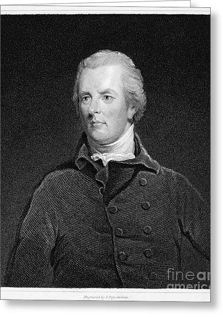 Statesman Greeting Cards - William Pitt (1759-1806) Greeting Card by Granger