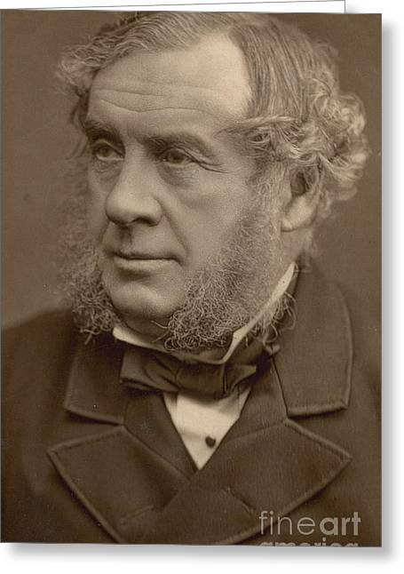 Constituent Greeting Cards - William Robert Grove, British Scientist Greeting Card by Science Source