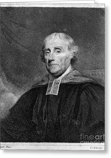 Clergyman Greeting Cards - William Smith (1727-1803) Greeting Card by Granger