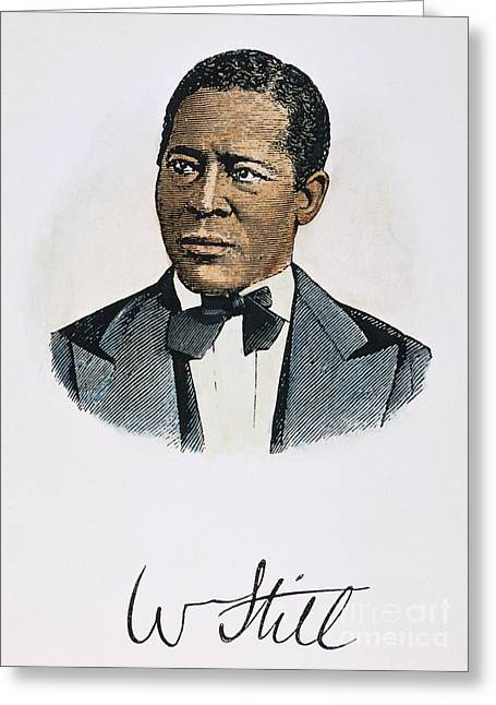 Abolition Greeting Cards - William Still (1821-1902) Greeting Card by Granger