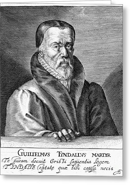 New Martyr Greeting Cards - William Tyndale (1492?-1536) Greeting Card by Granger