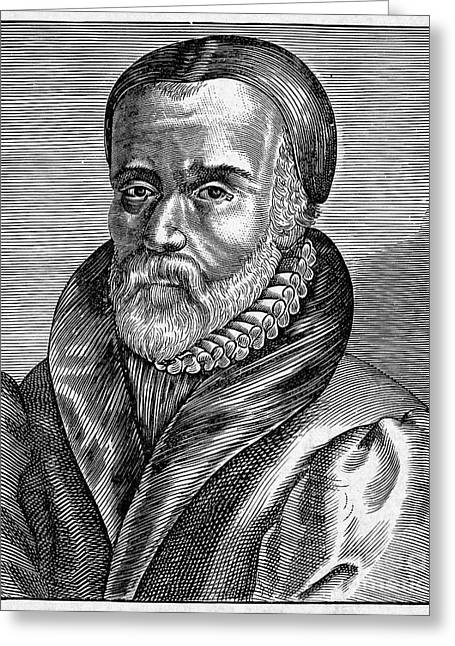 New Martyr Greeting Cards - William Tyndale Greeting Card by Granger