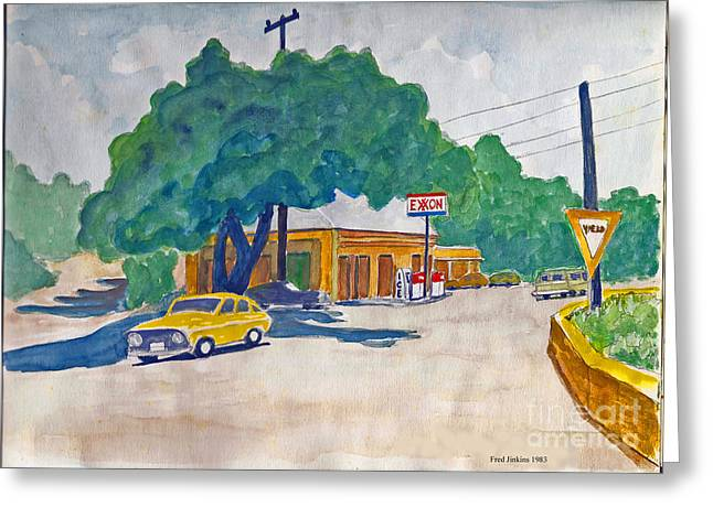 Wimberley Greeting Cards - Wimberley Texas  Greeting Card by Fred Jinkins