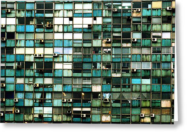 Ventana Greeting Cards - Windows I Greeting Card by Osvaldo Hamer