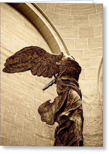 """winged Victory"" Greeting Cards - Winged Victory Greeting Card by JAMART Photography"