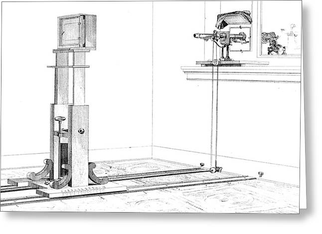 Enable Greeting Cards - Woodwards Photomicrography Apparatus Greeting Card by Science Source