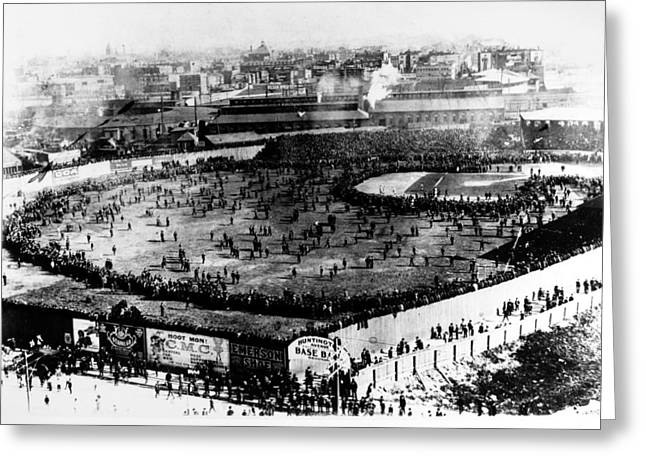 Boston Red Sox Greeting Cards - World Series, 1903 Greeting Card by Granger