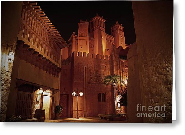 World Showcase Greeting Cards - World Showcase - Morocco Pavillion Greeting Card by AK Photography