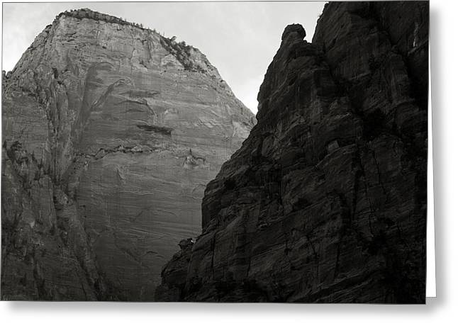Himmel Digital Art Greeting Cards - Zion National Park Greeting Card by Aurica Voss