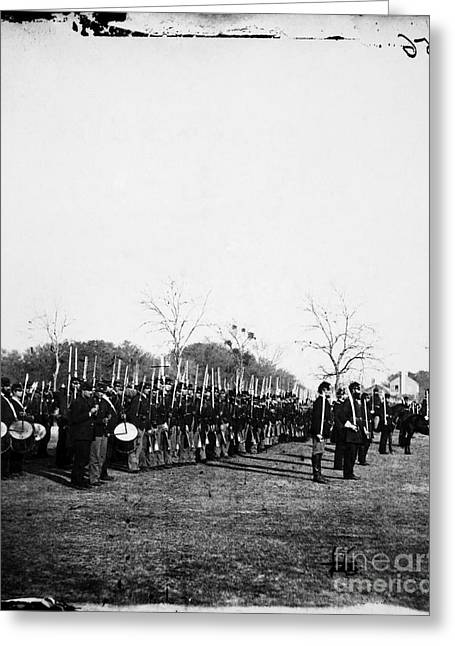Pennsylvania Photographs Greeting Cards - Civil War: Soldiers Greeting Card by Granger