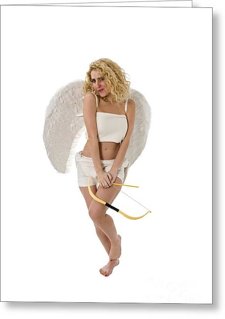 Women Only Greeting Cards - Cupid the god of desire Greeting Card by Ilan Rosen