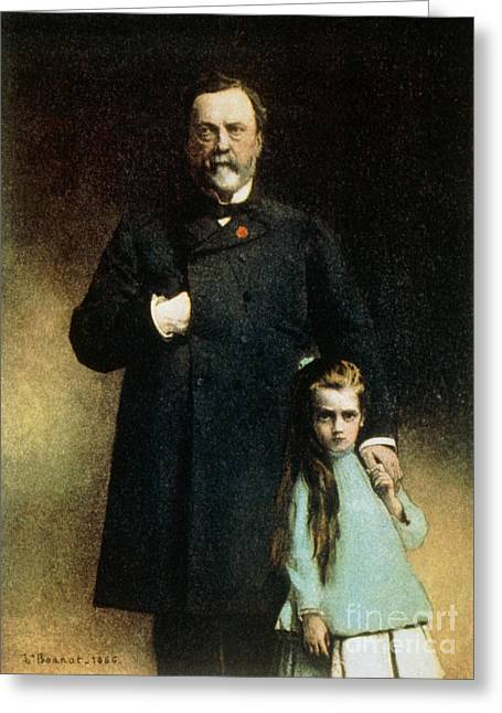 Breakthrough Greeting Cards - Louis Pasteur, French Chemist Greeting Card by Science Source