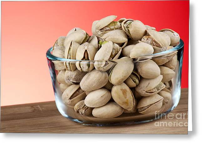 Shell Texture Greeting Cards - Pistachios  Greeting Card by Blink Images