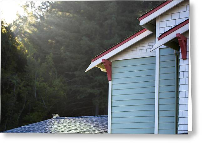Residential Structure Greeting Cards - The Meadow At Falcon Ridge An Greeting Card by Dan Kaufman