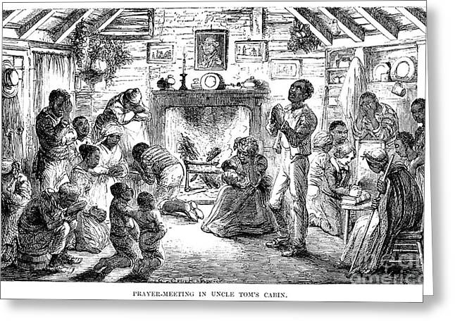 Uncle Tom Greeting Cards - Uncle Toms Cabin Greeting Card by Granger