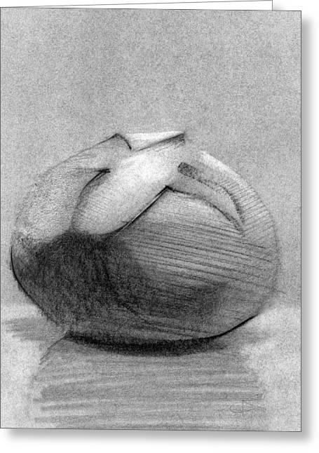 Pencil Drawing Greeting Cards - RCNpaintings.com Greeting Card by Chris N Rohrbach