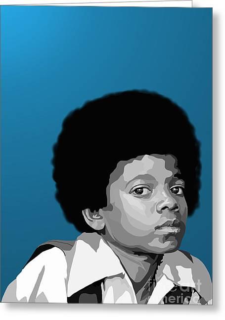 Jackson 5 Digital Art Greeting Cards - 108. Easy as 123 Greeting Card by Tam Hazlewood