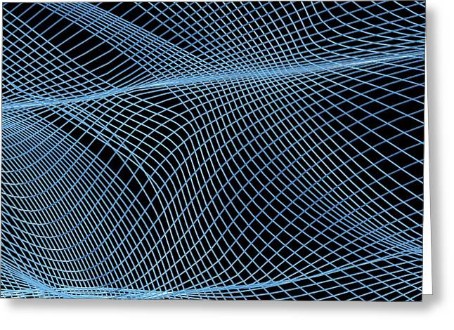 Netting Greeting Cards - Abstract Artwork Greeting Card by Pasieka