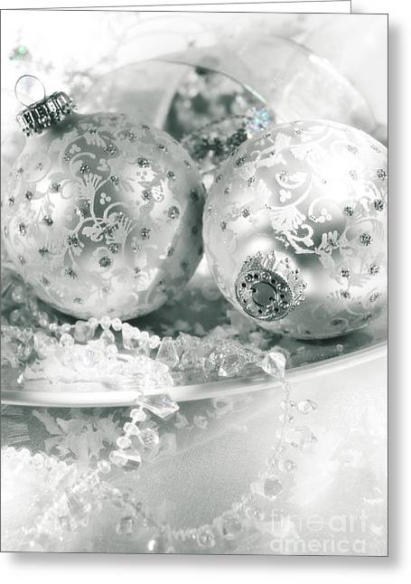 Interior Still Life Photographs Greeting Cards - Christmas Greeting Card by HD Connelly
