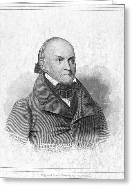 John Quincy Adams Greeting Card by Granger