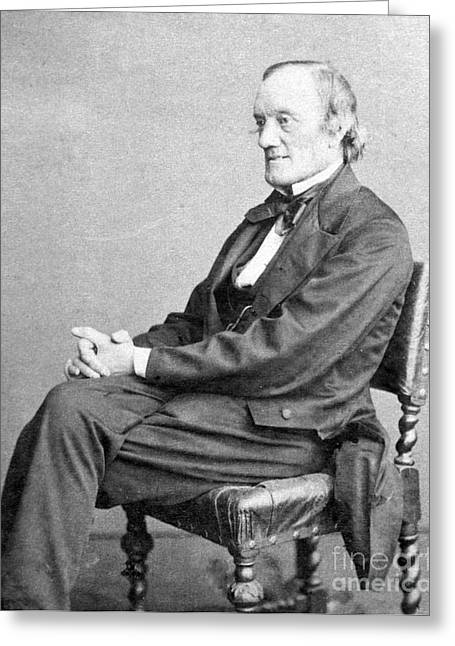 The Fearful Greeting Cards - Richard Owen, English Paleontologist Greeting Card by Science Source