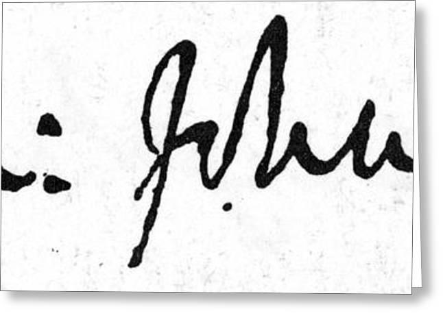 18th Century Greeting Cards - Samuel Johnson (1709-1784) Greeting Card by Granger