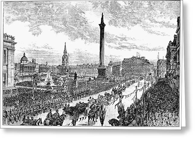 Trafalgar Greeting Cards - Victoria Of England Greeting Card by Granger
