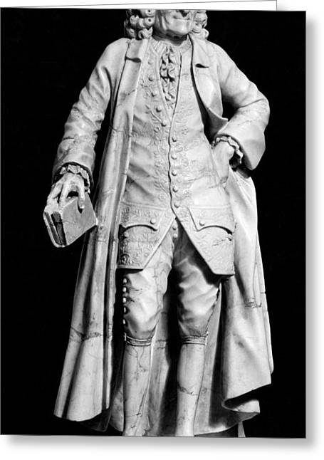 Statue Portrait Greeting Cards - Voltaire (1694-1778) Greeting Card by Granger