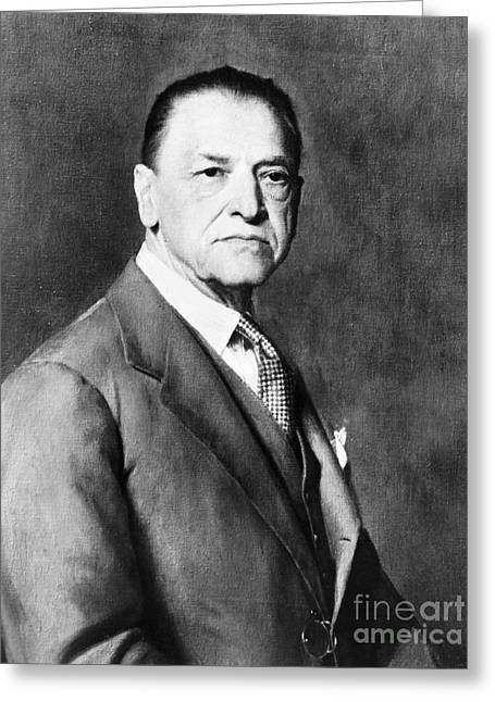 William Somerset Maugham Greeting Card by Granger