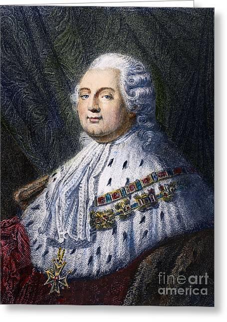 Maltese Greeting Cards - Louis Xvi (1754-1793) Greeting Card by Granger