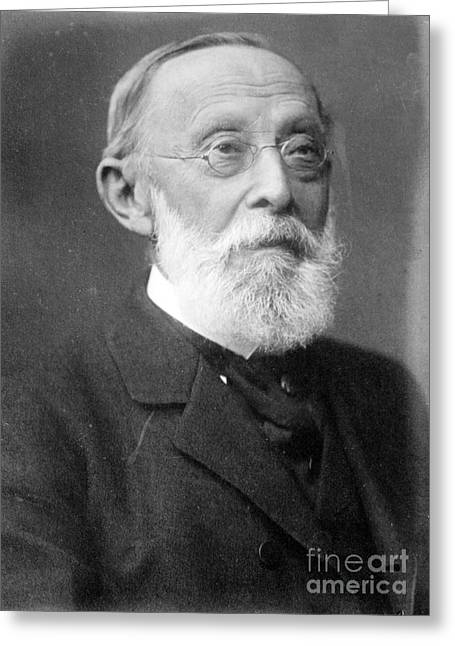 Rudolph Greeting Cards - Rudolph Virchow, German Polymath Greeting Card by Science Source