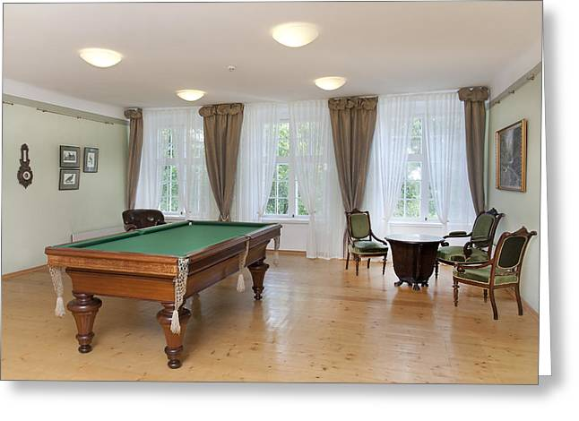Residential Structure Greeting Cards - Sagadi Manor Near Tallinn. A Historic Greeting Card by Jaak Nilson