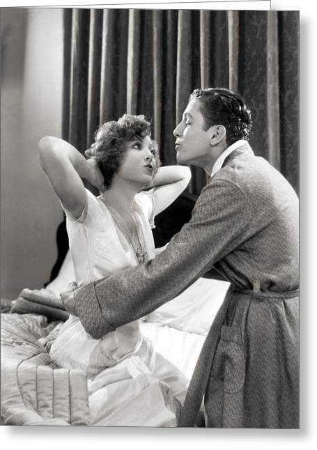 Best Sellers -  - Interior Scene Greeting Cards - Silent Film Still: Couples Greeting Card by Granger